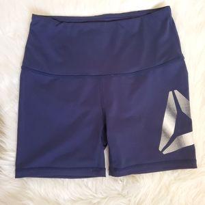 Reebok Blue Bike Shorts